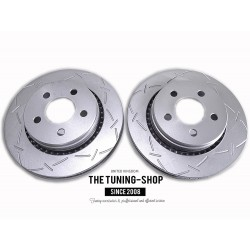 2x Vented Front Brake Disc Rotors 53042 JANSON 780540 For DODGE NITRO JEEP LIBERTY