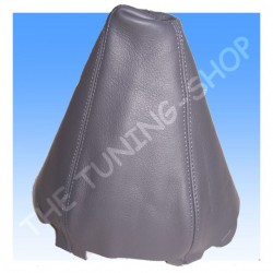 AUDI A4 B6 01-04 GEAR GAITER SHIFT BOOT GREY LEATHER