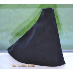 CITROEN C3 / DS3 2010-2013 GEAR GAITER BLACK ALCANTARA BLACK STITCHING