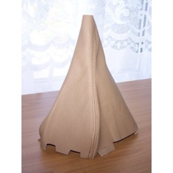 AUDI A6 01-04 GEAR GAITER SHIFT BOOT BEIGE/TAN LEATHER
