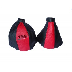 FOR ALFA ROMEO 159 2004-2011 GEAR GAITER LEATHER  embroidery