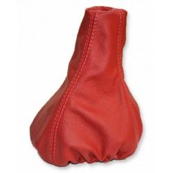 SEAT IBIZA CORDOBA 93-99 GEAR GAITER RED LEATHER