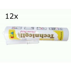 12x 300ml Acrylic Sealant White