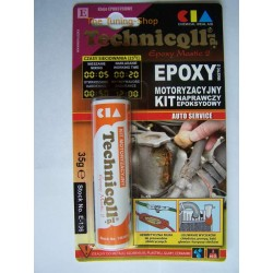 1 x EPOXY PUTTY FOR METALS PLASTIC WOOD GLASS etc 35g HIGH QUALITY TECHNICQLL NEW