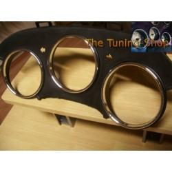 TOYOTA SUPRA MK4 93-98 CHROME DIAL RINGS TRIM SURROUNDS SET NEW
