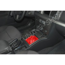 VAUXHALL OPEL VECTRA C 02-08 GEAR GAITER RED LEATHER