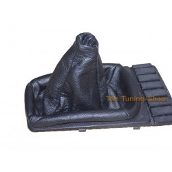 VW GOLF 2 MK2 83-91 GEAR GAITER BLACK LEATHER