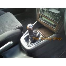 VW GOLF 5 MK5 JETTA GEAR GAITER SHIFT BOOT BLACK LEATHER