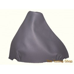 VW PASSAT B5 01-05 GEAR GAITER SHIFT BOOT MID GREY LEATHER