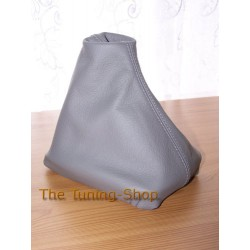 VW PASSAT B5 96-05 GEAR GAITER SHIFT BOOT GREY LEATHER NEW