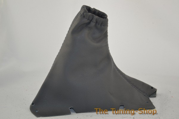 Handbrake Gaiter Grey Leather