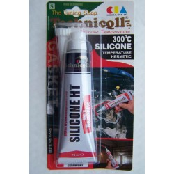 70ml RED HIGH TEMPERATURE SILICONE ADHESIVE SEALANT HERMETIC 300'C High Quality NEW TECHNICQLL