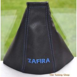 VAUXHALL ZAFIRA A 1999-2005 GEAR GAITER embroidery ZAFIRA BLUE STITCHING