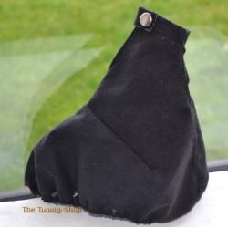 ALFA ROMEO 147 2000-2010 HANDBRAKE GAITER BLACK ALCANTARA SUEDE
