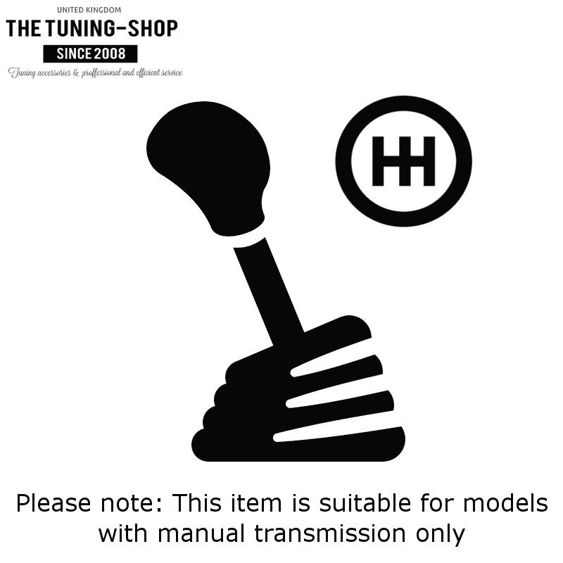 Shift Ebrake Boot For 2012-2015 Honda Civic Si FB FG Black